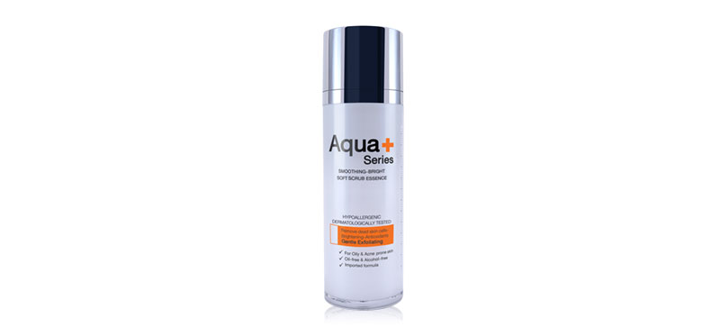 Aqua+ Series Smoothing-Bright Soft Scrub Essence 30ml