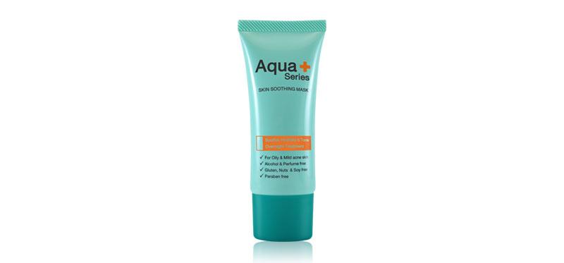 Aqua+Series Skin Soothing Mask 30ml ( สินค้าหมดอายุ : 2021.12 )