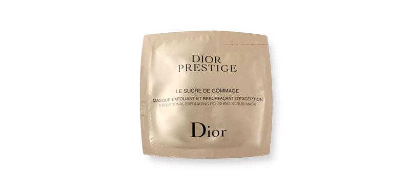 Dior Prestige Le Sucre De Gommage Excepitonal Exfoliating Polishing Scrub Mask 5ml