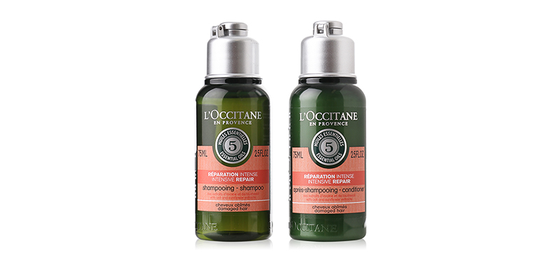 แพ็คคู่ L'Occitane Repairing Shampoo+Conditioner (75mlx2pcs)