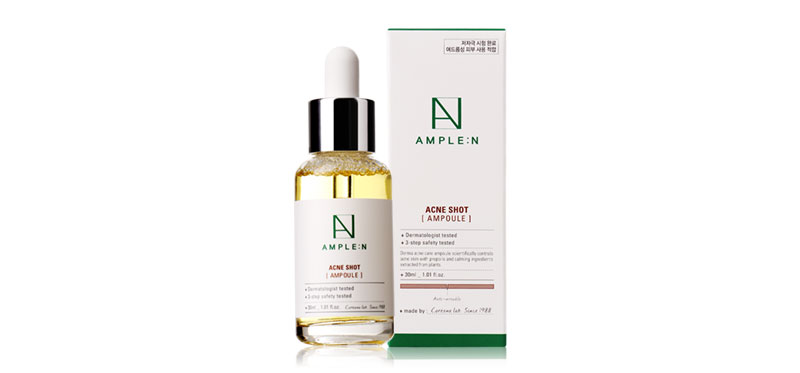 Coreana Lab Ample N Acne Shot Ampoule 30ml