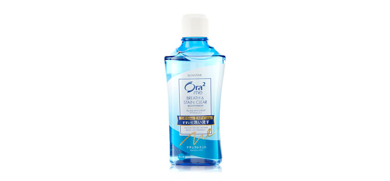 Ora2 Me B & S Clear MW R Natural Mint 460ml