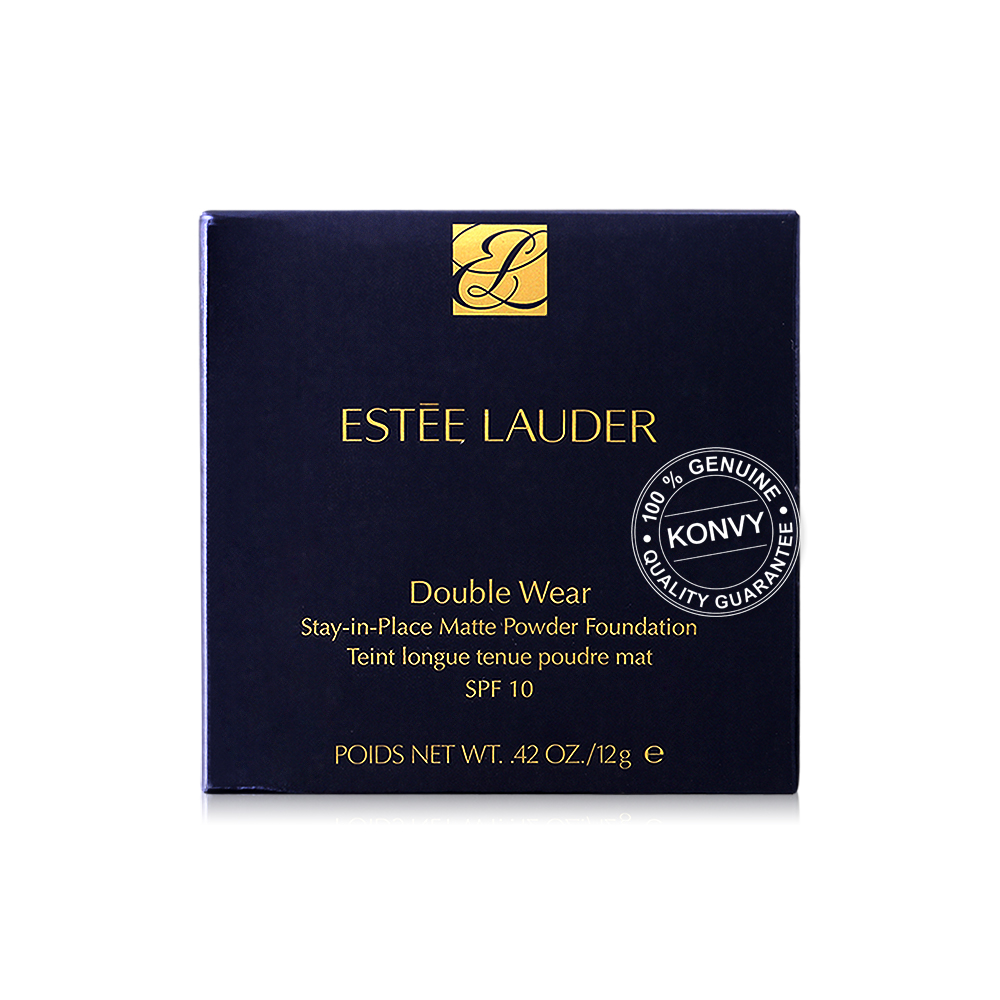 Estee Lauder Double Wear Stay-in-Place Matte Powder Foundation SPF10 12g #1W2 Sand