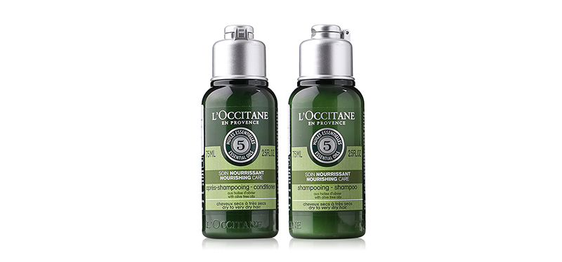 แพ็คคู่ L'Occitane Nourishing Care Shampoo+Conditioner (75mlx2pcs)