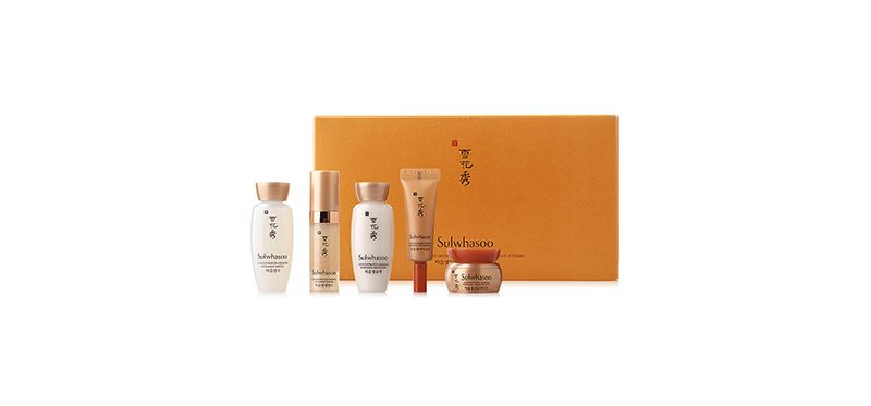 Sulwhsaoo Concentrated Ginseng Renewwing Basic Kit (Light, 5 Items)
