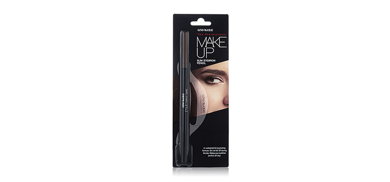 Beauty Buffet GINO McCRAY The Professional Make Up Slim Eyebrow Pencil 0.05g #01 Dark Brown