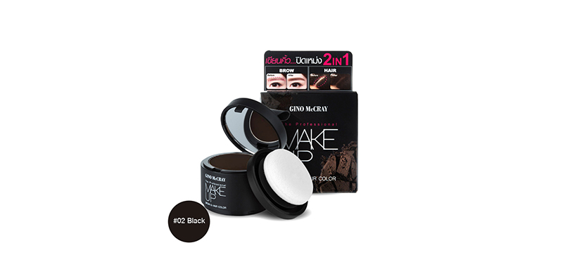 Beauty Buffet GINO McCRAY The Professional Make Up Brow & Hair Color 3.5g #02 Black