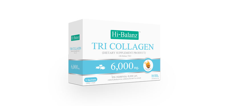 Hi-Balanz Tri Collagen 6,000mg (120ml x 5pcs)