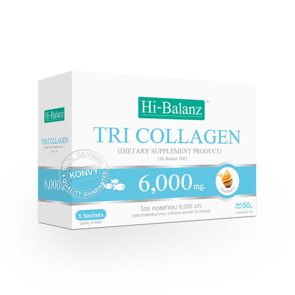 Hi-Balanz Set 3 Items (Yusu Flavour Collagen + Tri Collagen 6,000mg + Tri Collagen 3,000mg)
