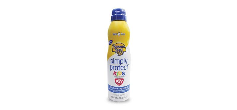 Banana Boat Simply Protect Kids Sunscreen Lotion Spray SPF50+/PA+++ 170g