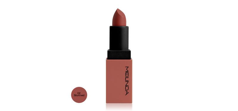 Mei Linda Lusted Light Matte Lipstick #02 Stunned