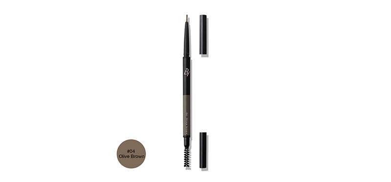 Lry All Day Long Eyebrow Pencil 0.09g #04 Olive Brown ( สินค้าหมดอายุ : 2021.09 )