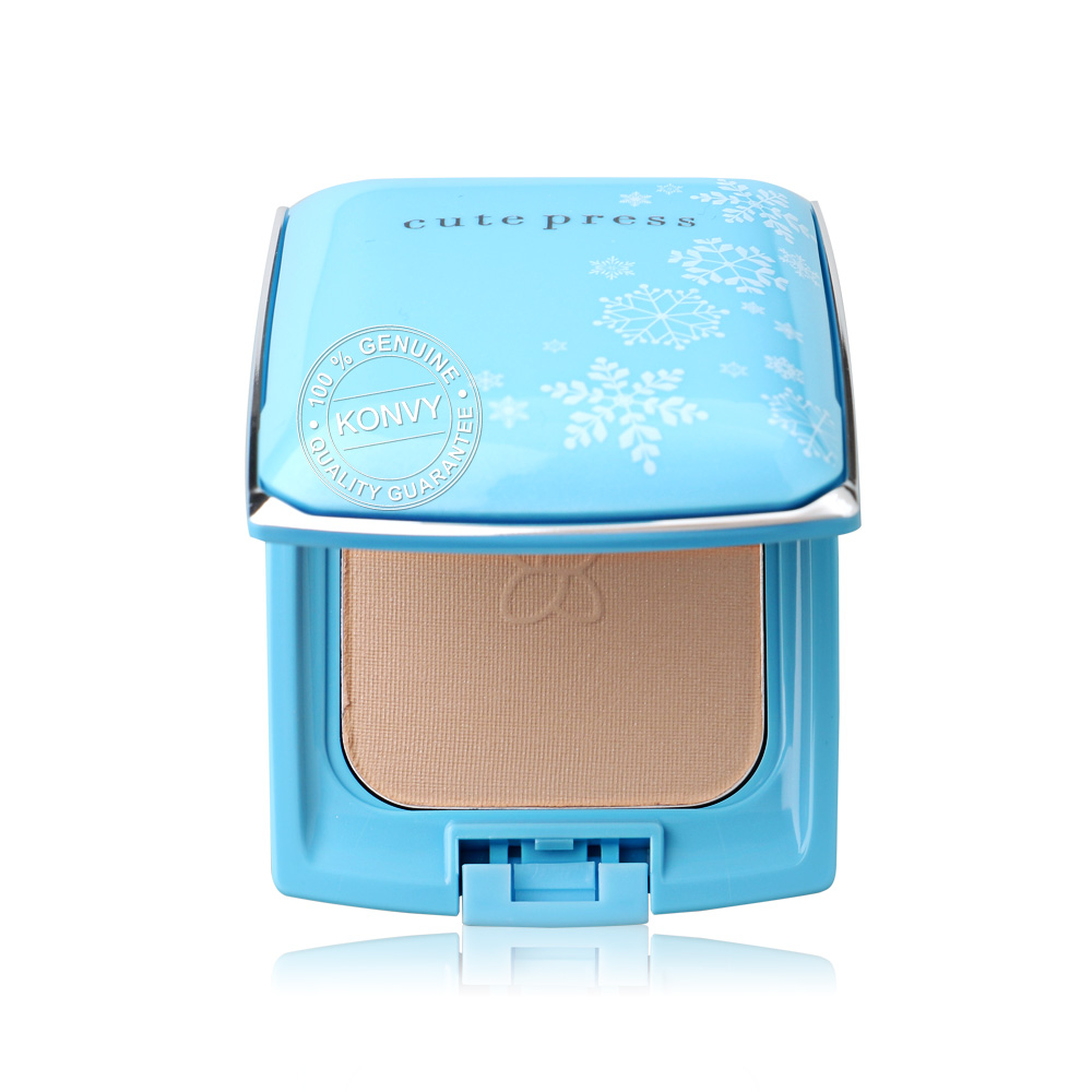Cute Press Evory Snow Whitening & Oil Control Foundation Powder SPF30/PA++ 12g #P1