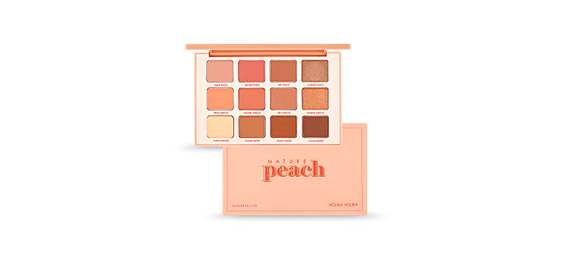 Holika Holika Piece Matching Eye Shadow Palette 12g #01 Mature Peach