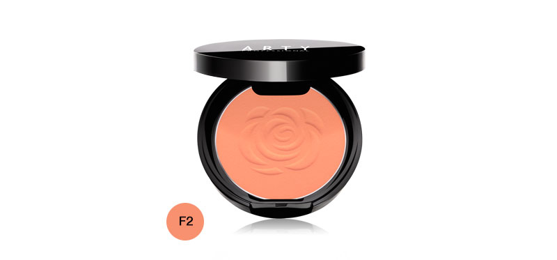 Arty Professional Rose Blush On 3.5g #F2