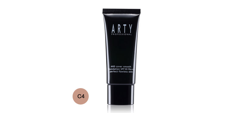 Arty Professional 4HD Cover Smooth Foundation 30g #C4