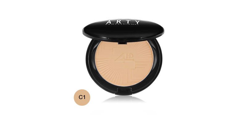 Arty Professional Perfect Skin 4HD Powder SPF25/PA++ 9g #C1