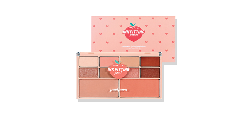 Peripera Ink Fitting Color Palette 15.2g #4 Get Peach With Me