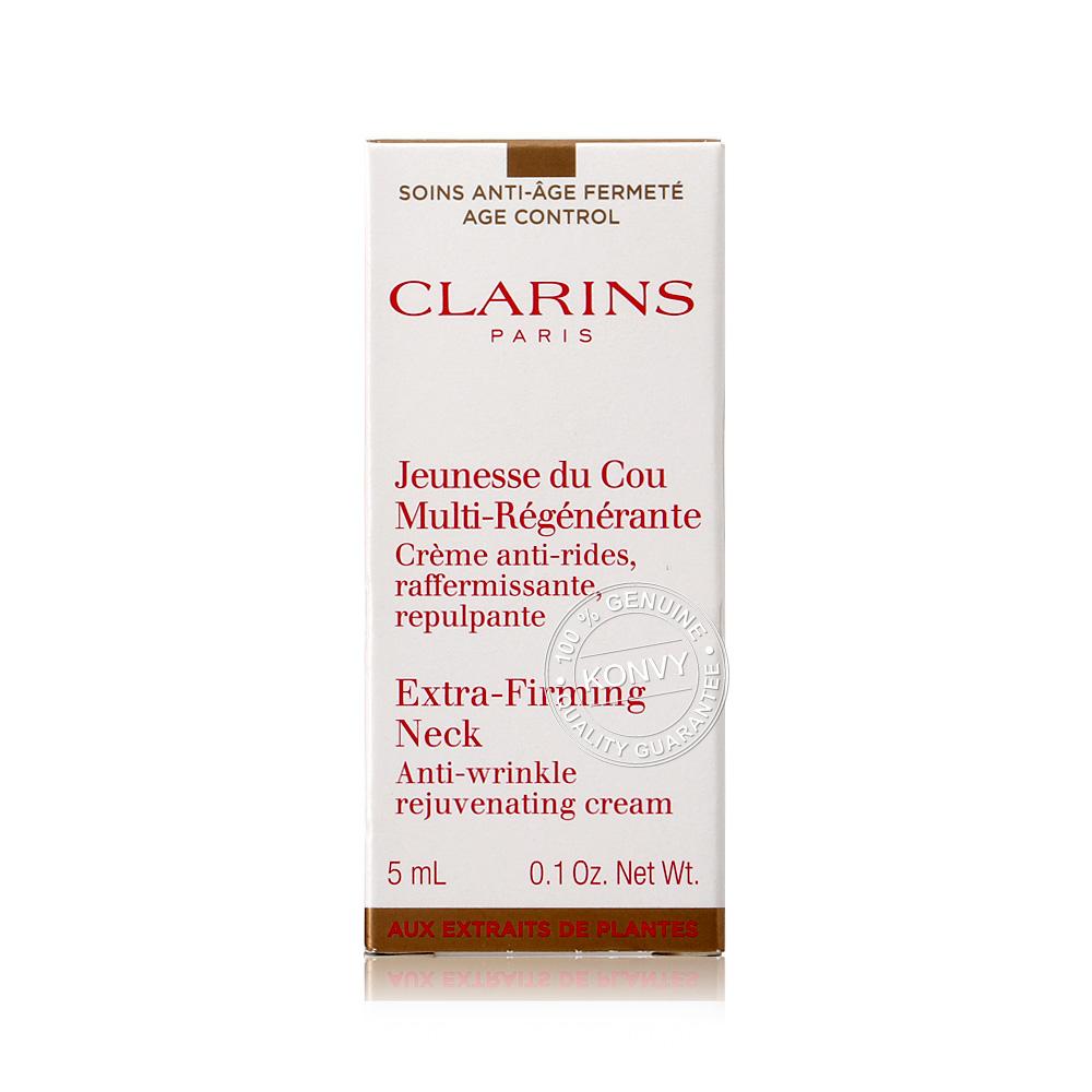 [แพ็คคู่] Clarins Jeunesse Du Cou Multi-Regenerante Extra-Firming Neck (5mlx2pcs)
