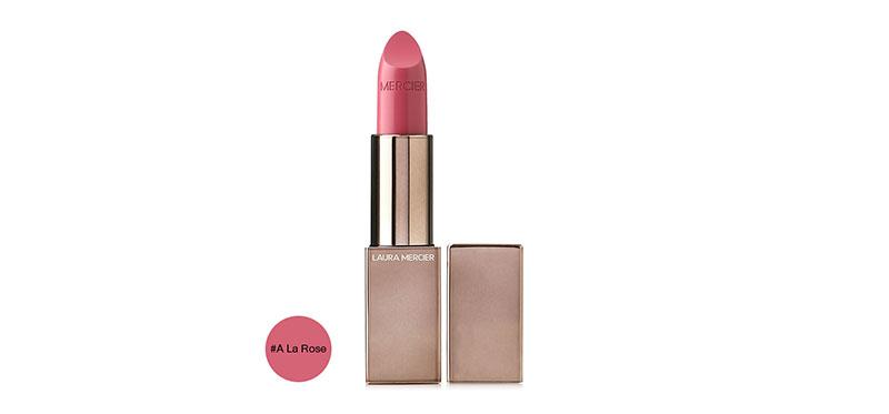 Laura Mercier Rouge Essentiel Silky Creme Lipstick 3.5g #A La Rose
