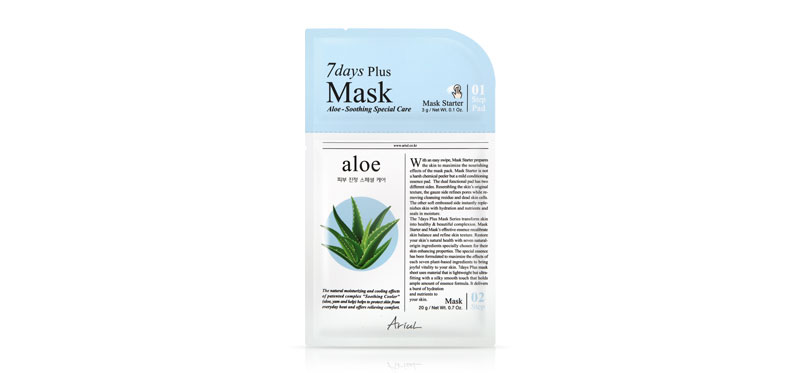 Ariul 7 Days Plus Mask Aloe 23g