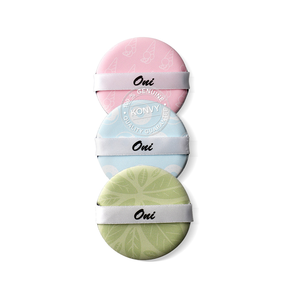 Oni Air Cushion Puff Set (3pcs)