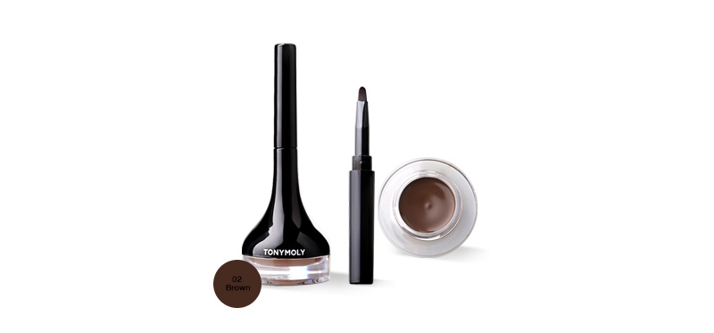 Tonymoly Back Gel Eyeliner 4.5ml #02 Brown