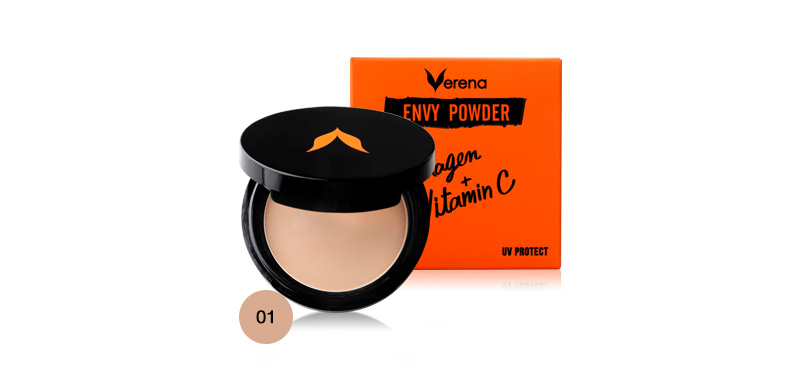 Verena Envy Powder Collagen+ Vitamin C UV Protect #01