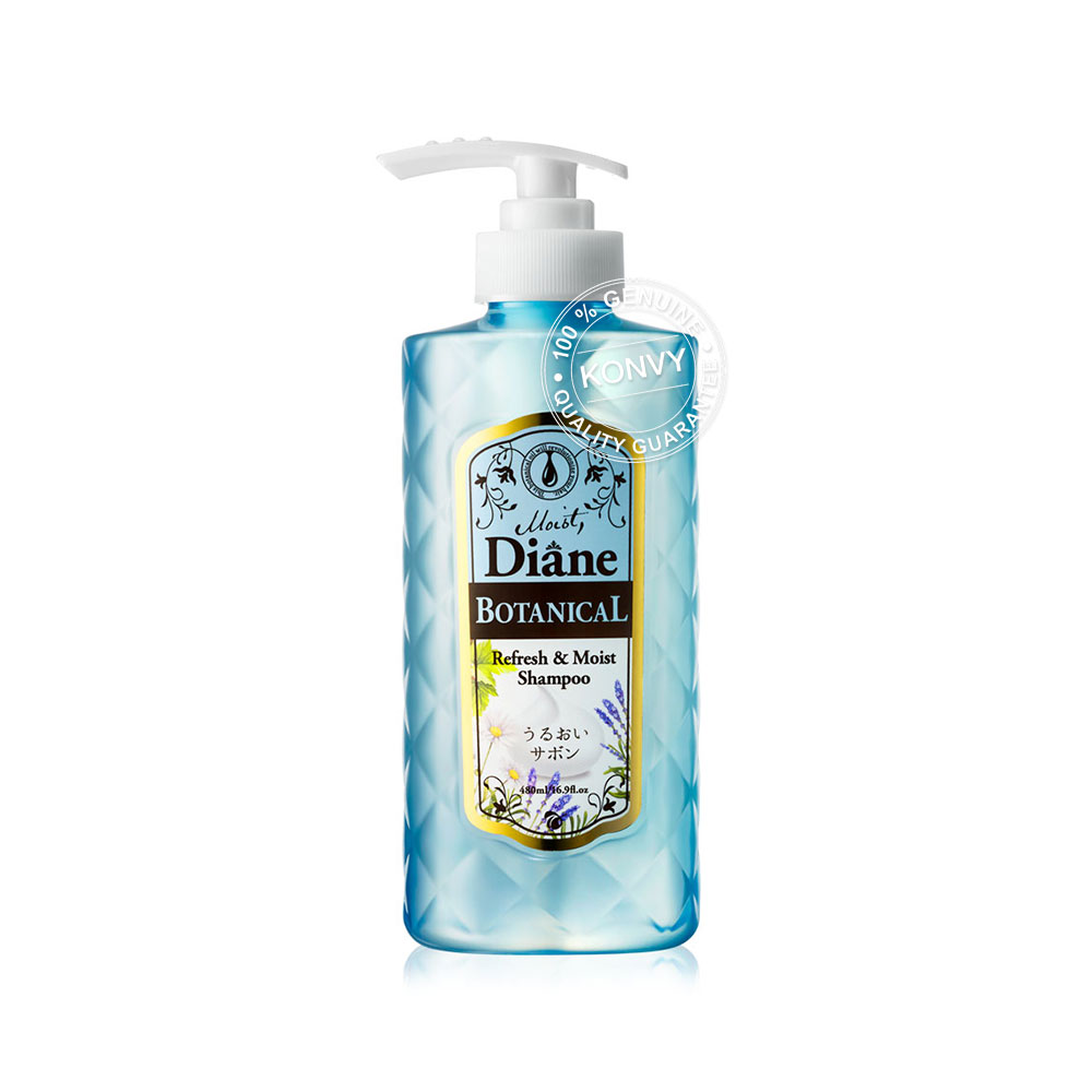 Moist Diane Botanical Refresh & Moist Shampoo 480ml