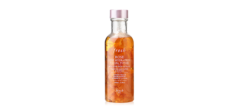 Fresh Rose Deep Hydration Facial Toner 100ml