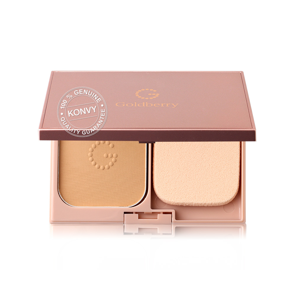Goldberry Simplify Nature Compact Foundation SPF25/PA++ 9g #02 Natural