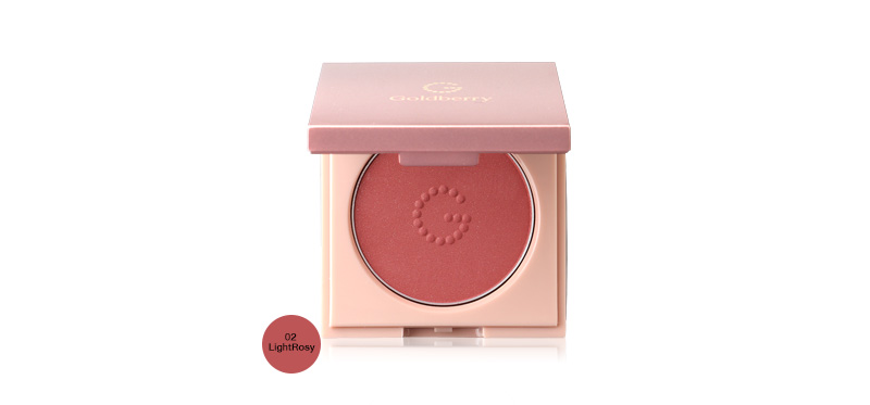 Goldberry Simplify Ultra Light Blusher 4g #02 LightRosy