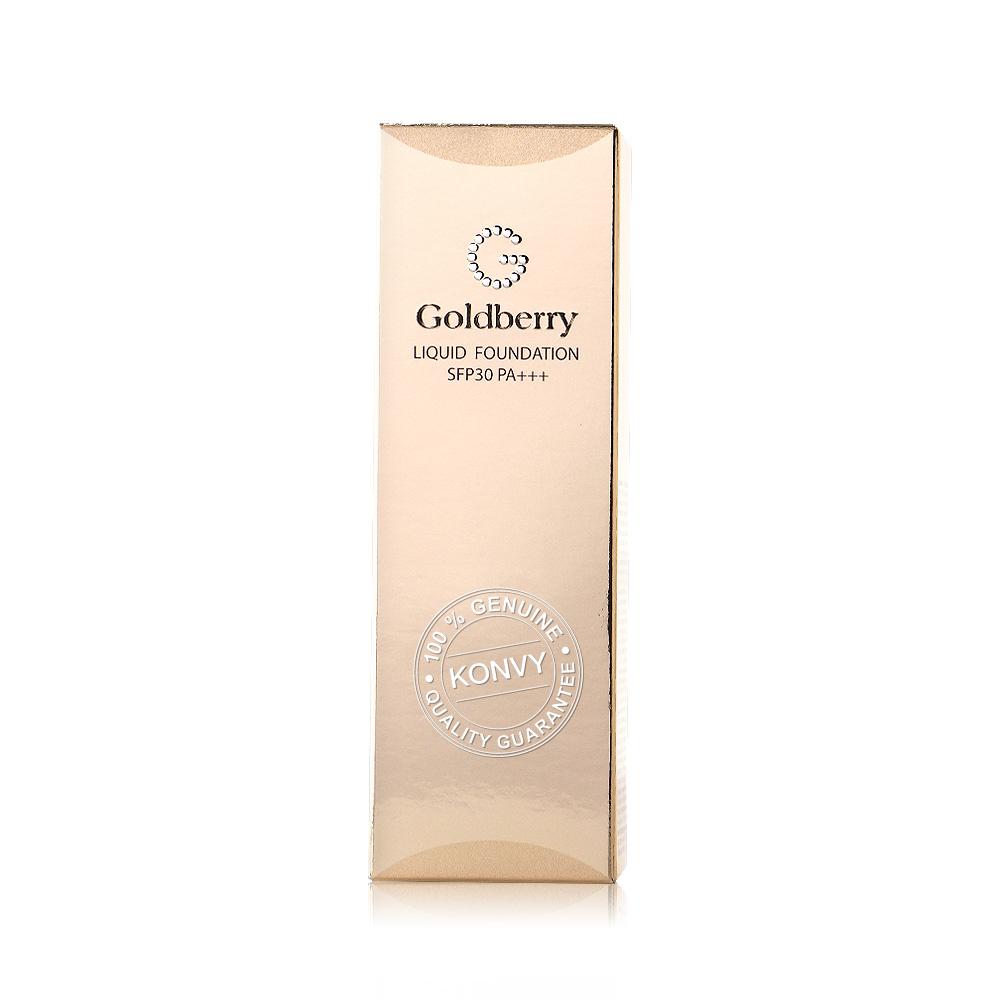 Goldberry Liquid Foundation SPF30/PA+++ 45ml #01 ( สินค้าหมดอายุ : 2020.07 )
