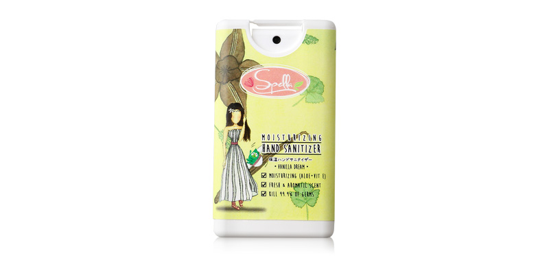 Spella Moisturizing Hand Sanitizer 15ml #Vanilla Dream