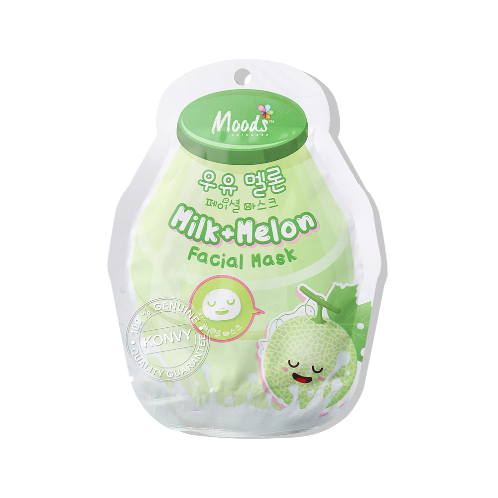 Moods Skin Care Moods Milk+Melon Facial Mask 38ml