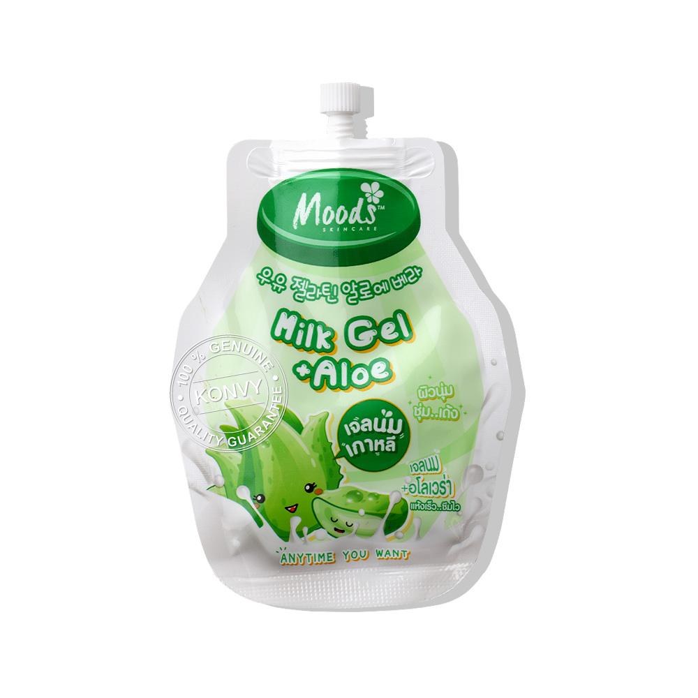 Moods Skin Care Moods Milk Gel + Aloe Anytime You Want 10ml