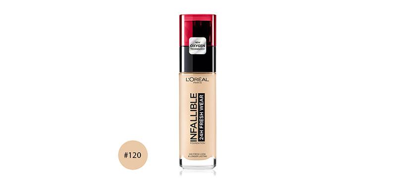 L'Oréal Paris Infallible 24H Fresh Wear 30ml #120