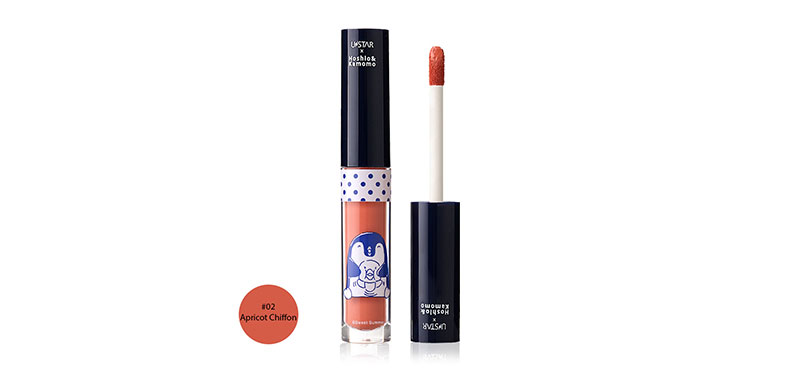 U-Star Cutie Matte Lip Ink 2.6g #02 Apricot Chiffon