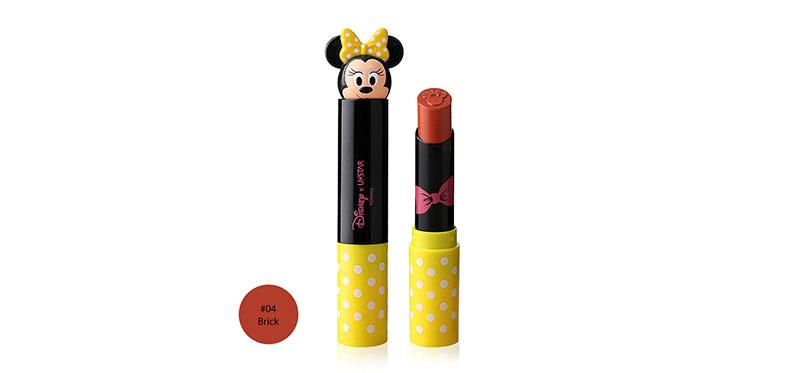 U-Star Minnie Beauty Nista Pro Matte Lipstick 3.4g #04 Brick ( สินค้าหมดอายุ : 2021.12 )