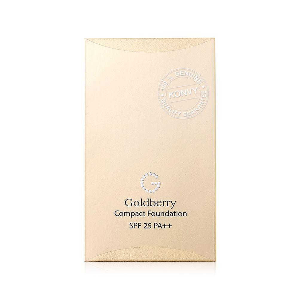 Goldberry Compact Foundation SPF25/PA++ 10g #01