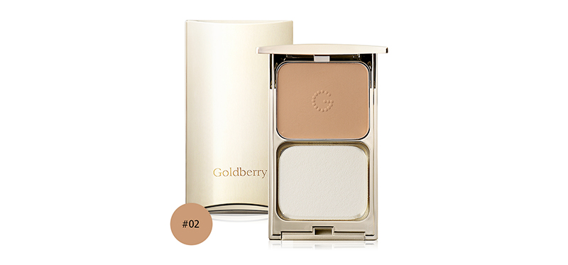 Goldberry Compact Foundation SPF25/PA++ 10g #02