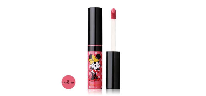 U-Star Minnie Wonderful Soft Matte Liquid Lip 5g #02 Poppy Pink