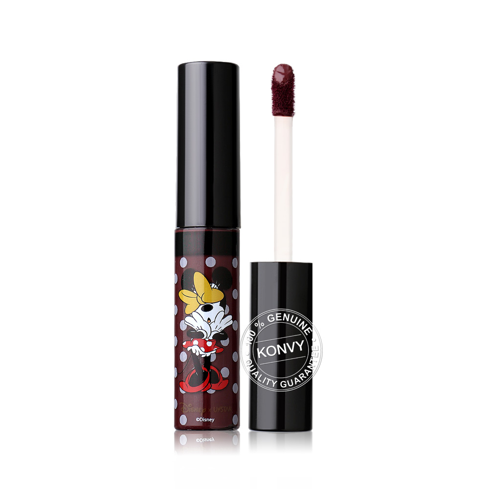U-Star Minnie Wonderful Soft Matte Liquid Lip 5g #10 Burgundy ( สินค้าหมดอายุ : 2021.06 )