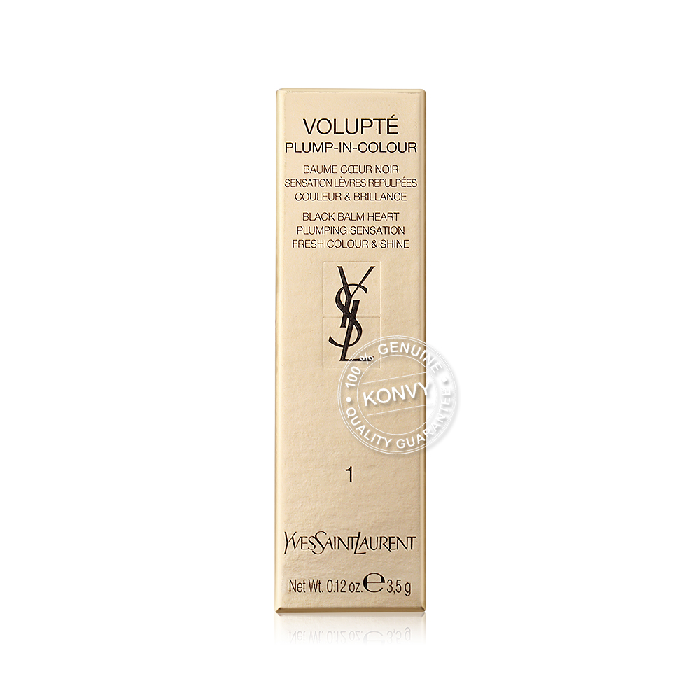 YSL  Volupte Plump-In-Colour 3.5g #1 Mad Nude