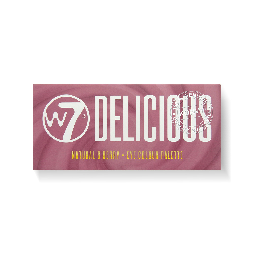 W7 Delicious Natural & Berry Tone 14 Eye Colour Palette 11.2g