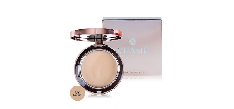 Chame One Finish Two Way Powder 11g #C2 Natural