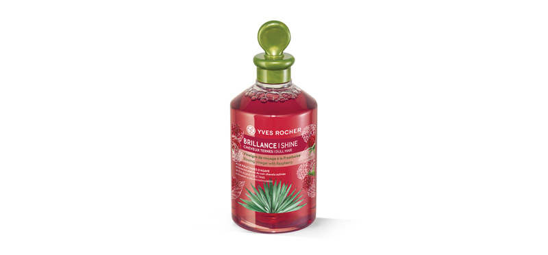 Yves Rocher Shine Rinsing Vinegar Raspberry All Hair Types 150ml