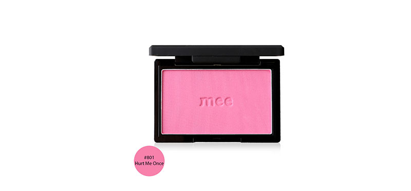 Mee Boiled And Baked Blush On 5g #801 Hurt Me Once ( สินค้าหมดอายุ : 2021.05 )
