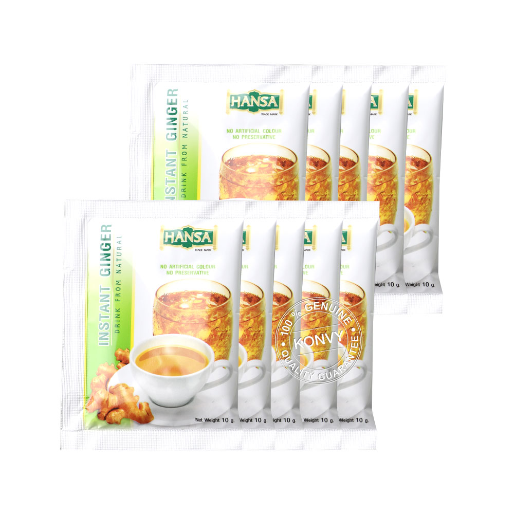 Khaolaor Instant Ginger 10 Sachets