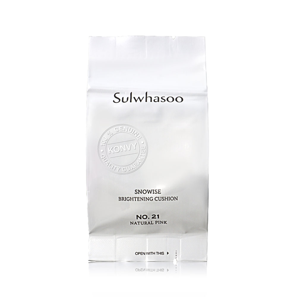 Sulwhasoo Snowise Brightening Cushion [14g x 2] #21 Natural Pink